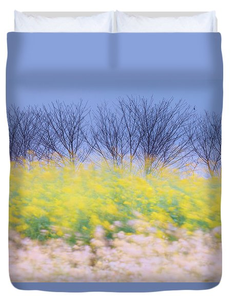 Wind Strokes Duvet Cover