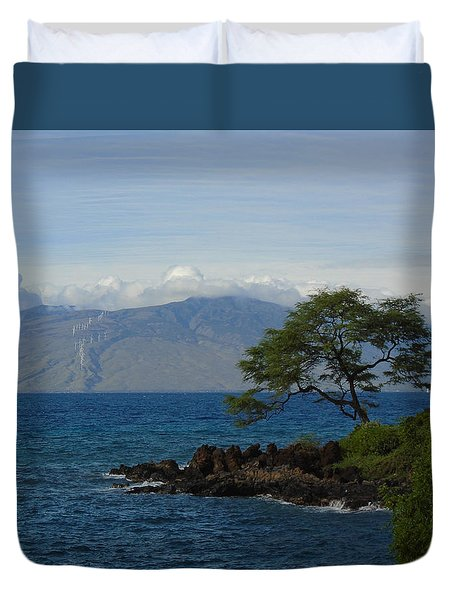 Wind Turbines - Maui Duvet Cover