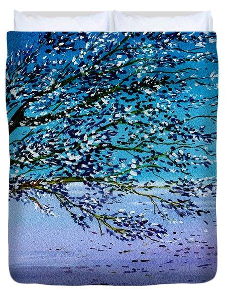 Windblown Duvet Cover by Brenda Owen