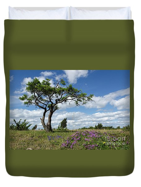 Windblown Duvet Cover