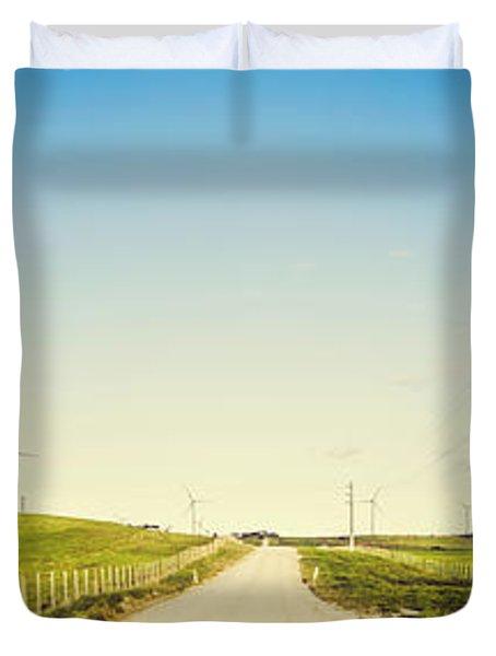 Windfarm Way Duvet Cover