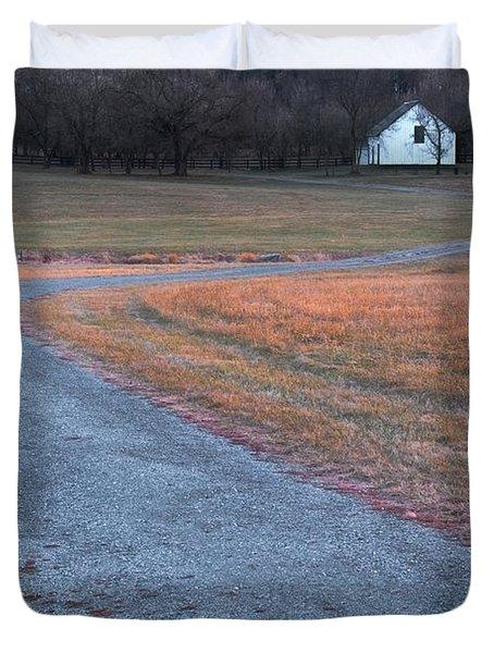 Winding Road Duvet Cover