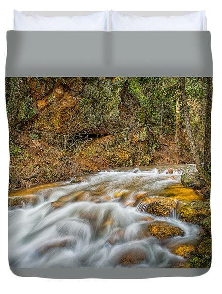 Winding Stream Duvet Cover