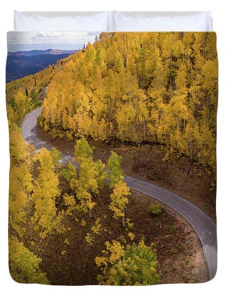 Winding Through Fall Duvet Cover