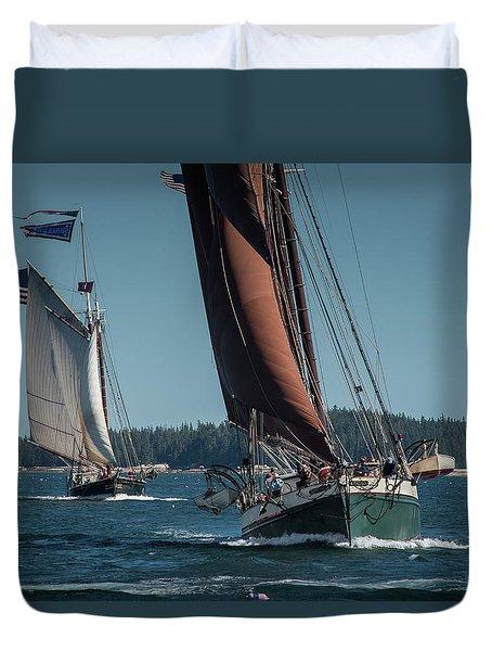 Windjammer Race Duvet Cover