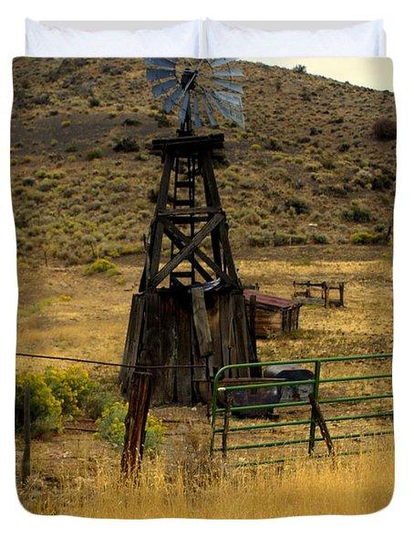 Windmill 1 Duvet Cover by Marty Koch