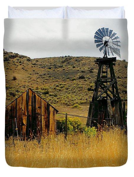Windmill 2 Duvet Cover by Marty Koch