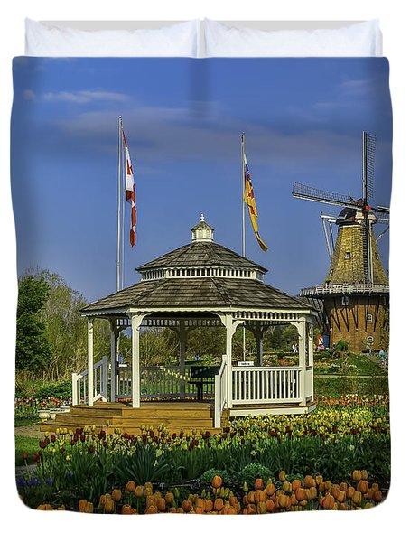 Windmill Island Gardens  Duvet Cover