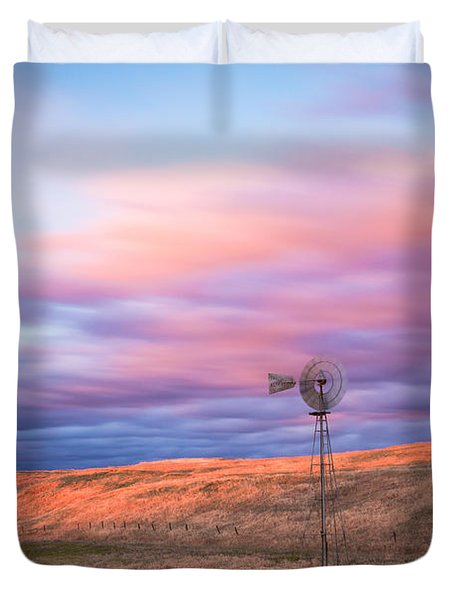 Windmill Le Duvet Cover