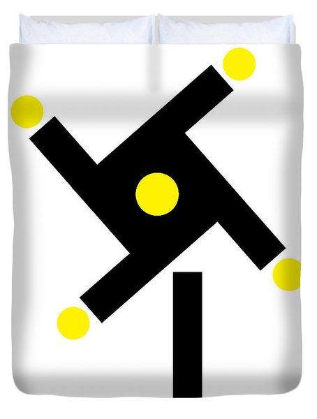 Windmill Minimalism Duvet Cover