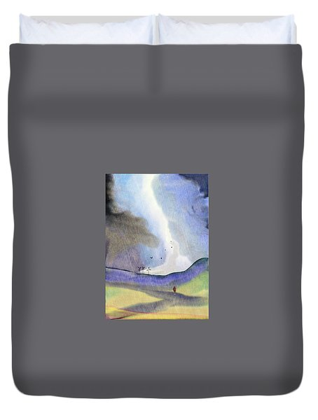 Windmills Of The Mind Duvet Cover