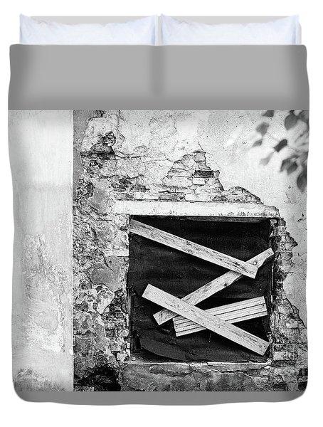 Window #2895 Duvet Cover
