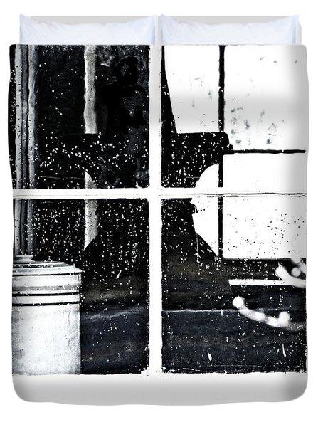 Window 3679 Duvet Cover