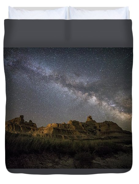 Duvet Cover featuring the photograph Window by Aaron J Groen