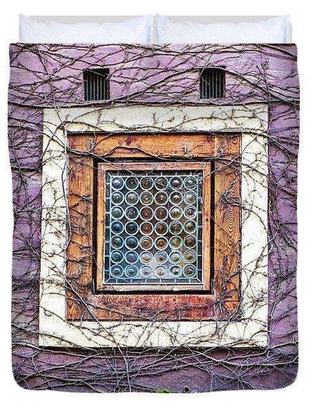 Window And Vines - Prague Duvet Cover