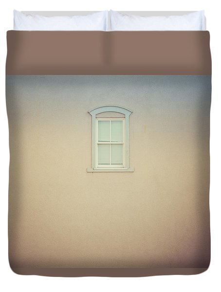 Window And Wall Duvet Cover