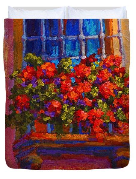 Window Box  Duvet Cover