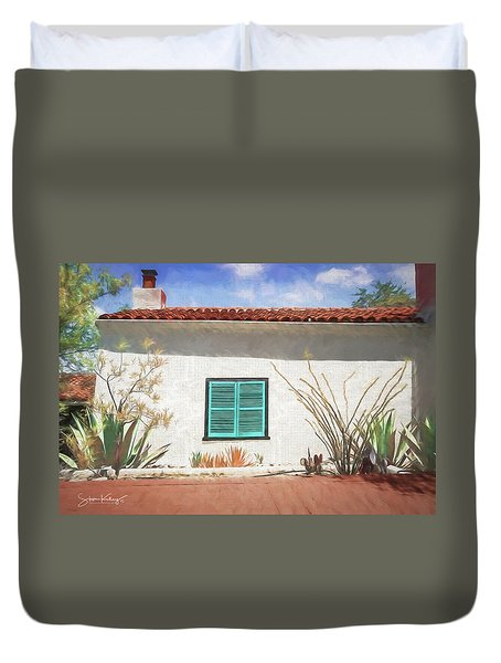 Window In Oracle Duvet Cover