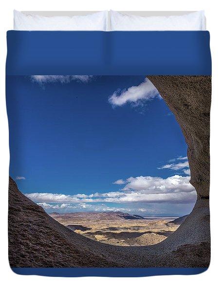 Window Seat Duvet Cover