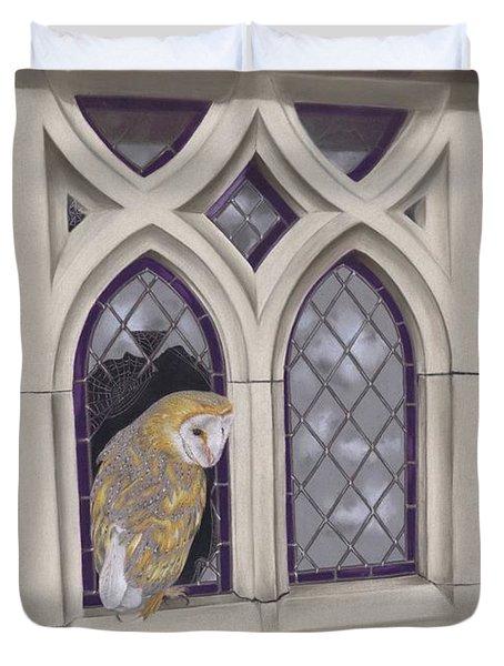 Window Shopping Duvet Cover