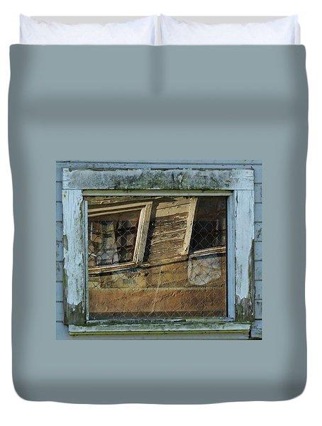 Window Story Duvet Cover by I'ina Van Lawick