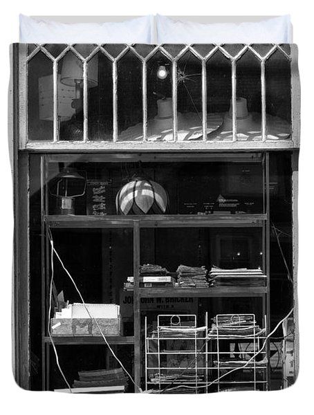 Window Study #12 Duvet Cover