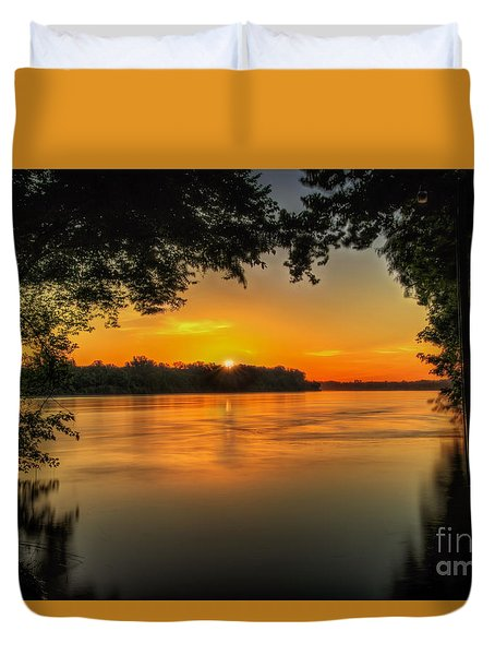 Window To The River Duvet Cover