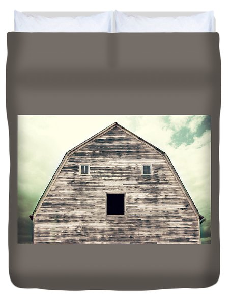 Duvet Cover featuring the photograph Window To The Soul by Julie Hamilton