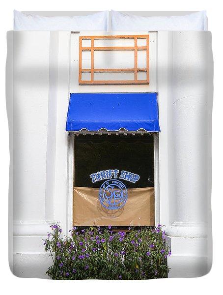 Window Trimming Duvet Cover