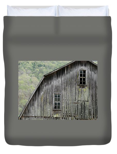 Windows Of The Past Duvet Cover