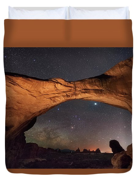 Windows To Heaven Duvet Cover