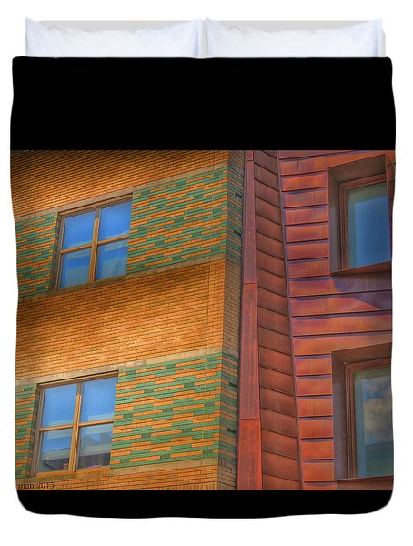 Windowscapes Duvet Cover