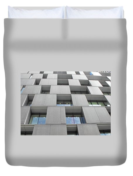 Windows_south Bank 01 Duvet Cover