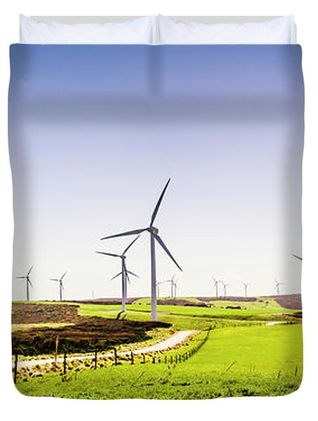 Winds From West Woolnorth Duvet Cover