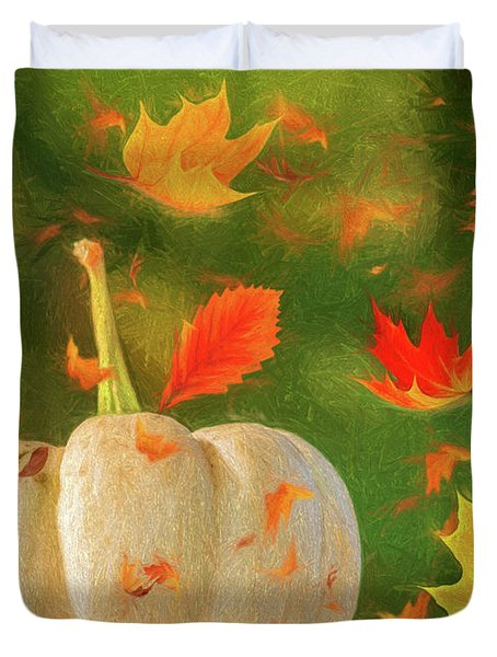 Winds Of Autumn Duvet Cover