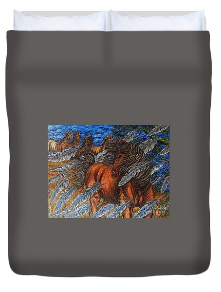 Winds Of Change Duvet Cover