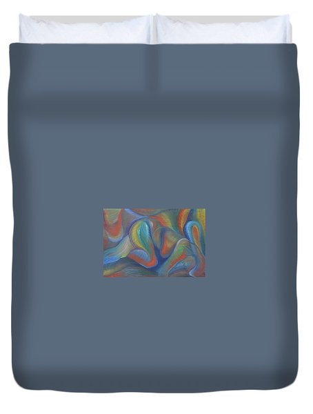 Winds Of Change Prevail Duvet Cover
