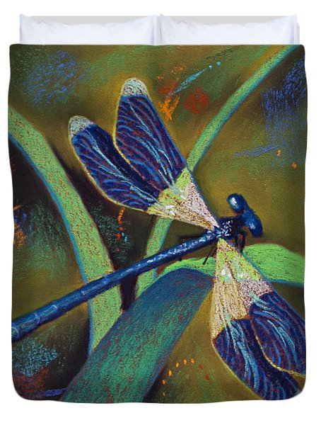 Winds Of Change Duvet Cover by Tracy L Teeter
