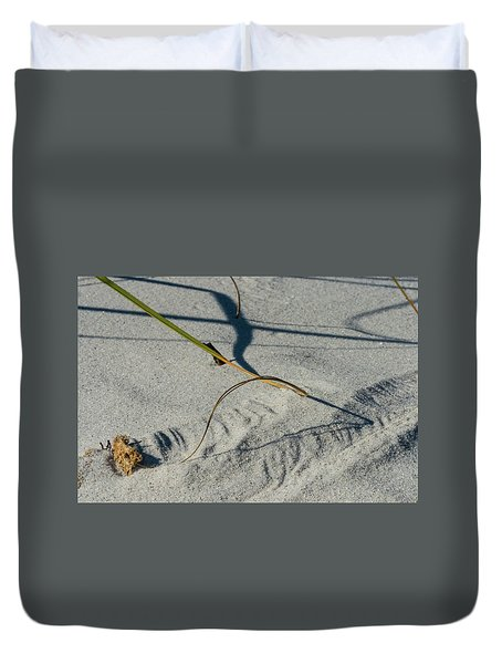 Winds Sand Scapes Duvet Cover