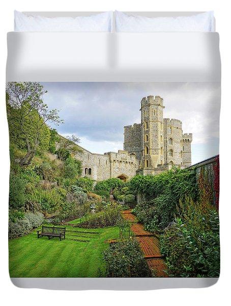 Windsor Castle Garden Duvet Cover
