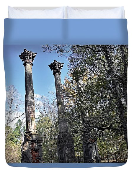 Windsor Ruins Duvet Cover