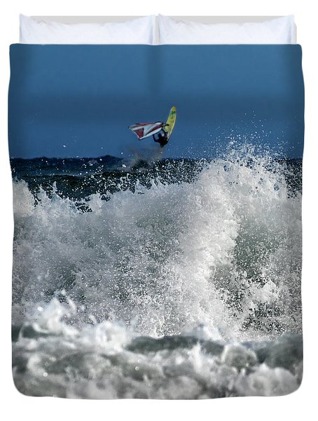 Windsurfer Duvet Cover