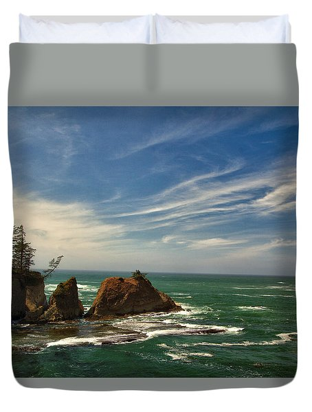 Windswept Day Duvet Cover