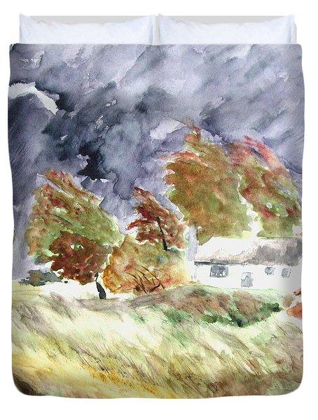 Windswept Landscape Duvet Cover