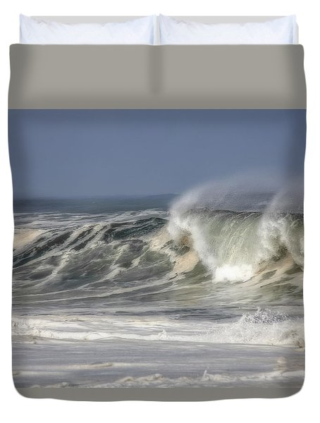 Windswept Duvet Cover by Mark Alder