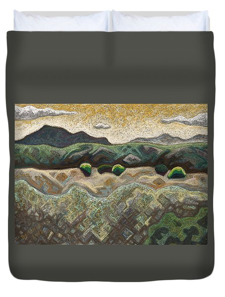 Windy Day Duvet Cover by Dale Beckman