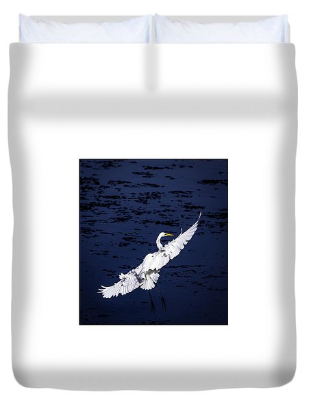 Windy Flight Duvet Cover