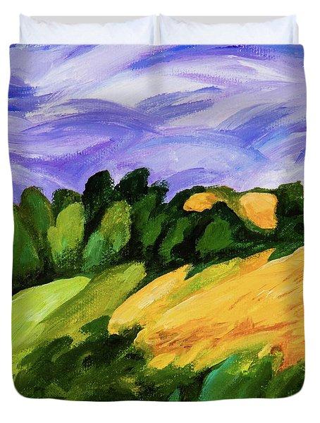 Windy Duvet Cover