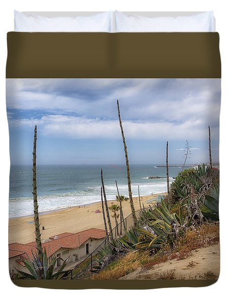 Windy On Redondo Duvet Cover