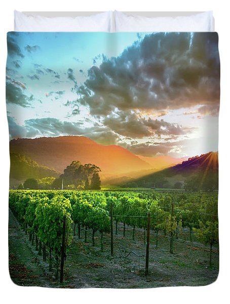 Wine Country Duvet Cover